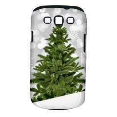 Christmas Xmas Tree Bokeh Samsung Galaxy S Iii Classic Hardshell Case (pc+silicone)