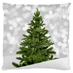 Christmas Xmas Tree Bokeh Standard Flano Cushion Case (two Sides)
