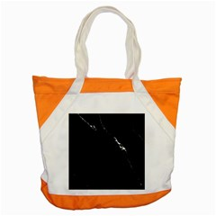 Black Marble Tiles Rock Stone Statues Accent Tote Bag