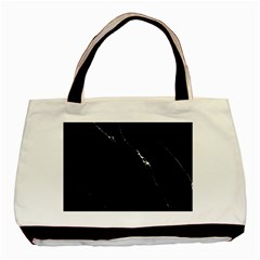 Black Marble Tiles Rock Stone Statues Basic Tote Bag (two Sides)