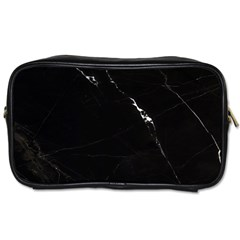 Black Marble Tiles Rock Stone Statues Toiletries Bags