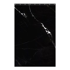 Black Marble Tiles Rock Stone Statues Shower Curtain 48  X 72  (small)