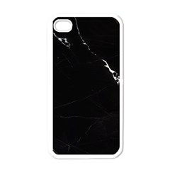 Black Marble Tiles Rock Stone Statues Apple Iphone 4 Case (white)