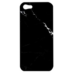 Black Marble Tiles Rock Stone Statues Apple Iphone 5 Hardshell Case