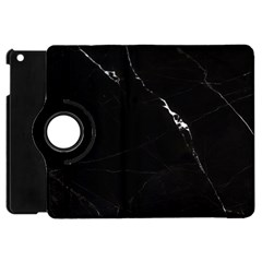 Black Marble Tiles Rock Stone Statues Apple Ipad Mini Flip 360 Case