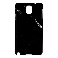Black Marble Tiles Rock Stone Statues Samsung Galaxy Note 3 N9005 Hardshell Case by Simbadda