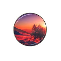 Italy Sunrise Sky Clouds Beautiful Hat Clip Ball Marker (10 Pack)