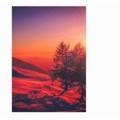 Italy Sunrise Sky Clouds Beautiful Large Garden Flag (two Sides)