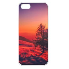 Italy Sunrise Sky Clouds Beautiful Apple Iphone 5 Seamless Case (white)