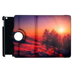 Italy Sunrise Sky Clouds Beautiful Apple Ipad 2 Flip 360 Case