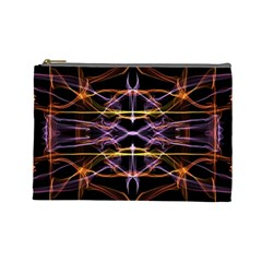 Wallpaper Abstract Art Light Cosmetic Bag (large)