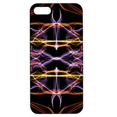 Wallpaper Abstract Art Light Apple Iphone 5 Hardshell Case With Stand