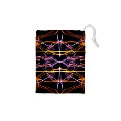 Wallpaper Abstract Art Light Drawstring Pouches (xs)