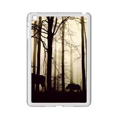 Forest Fog Hirsch Wild Boars Ipad Mini 2 Enamel Coated Cases
