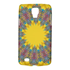 Star Quilt Pattern Squares Galaxy S4 Active