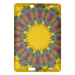 Star Quilt Pattern Squares Amazon Kindle Fire Hd (2013) Hardshell Case