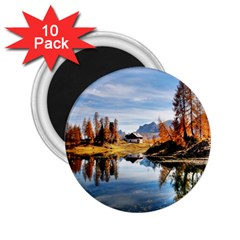 Dolomites Mountains Italy Alpine 2 25  Magnets (10 Pack)