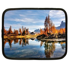 Dolomites Mountains Italy Alpine Netbook Case (large)