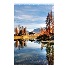 Dolomites Mountains Italy Alpine Shower Curtain 48  X 72  (small)