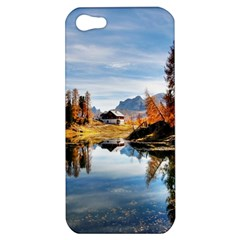 Dolomites Mountains Italy Alpine Apple Iphone 5 Hardshell Case