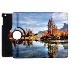 Dolomites Mountains Italy Alpine Apple Ipad Mini Flip 360 Case by Simbadda