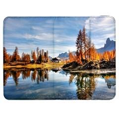 Dolomites Mountains Italy Alpine Samsung Galaxy Tab 7  P1000 Flip Case