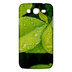 Leaf Green Foliage Green Leaves Samsung Galaxy Mega 5 8 I9152 Hardshell Case  by Simbadda