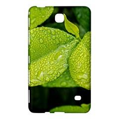 Leaf Green Foliage Green Leaves Samsung Galaxy Tab 4 (7 ) Hardshell Case  by Simbadda