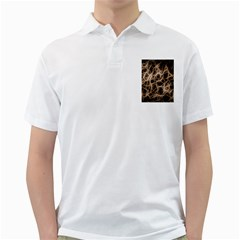 Structure Background Pattern Golf Shirts