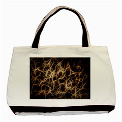 Structure Background Pattern Basic Tote Bag (two Sides)