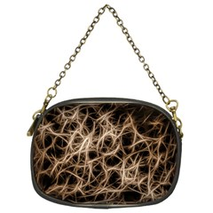 Structure Background Pattern Chain Purses (one Side)