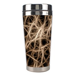Structure Background Pattern Stainless Steel Travel Tumblers