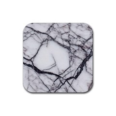 Marble Tiles Rock Stone Statues Rubber Square Coaster (4 Pack)