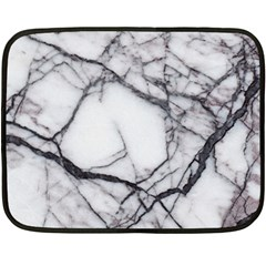Marble Tiles Rock Stone Statues Double Sided Fleece Blanket (mini)