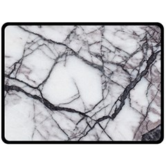 Marble Tiles Rock Stone Statues Double Sided Fleece Blanket (large)