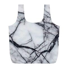 Marble Tiles Rock Stone Statues Full Print Recycle Bags (l)  by Simbadda