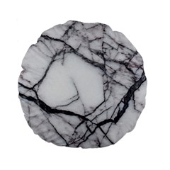 Marble Tiles Rock Stone Statues Standard 15  Premium Flano Round Cushions