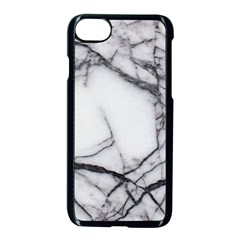 Marble Tiles Rock Stone Statues Apple Iphone 7 Seamless Case (black) by Simbadda