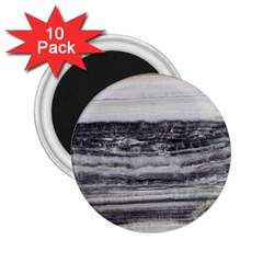 Marble Tiles Rock Stone Statues Pattern Texture 2 25  Magnets (10 Pack)