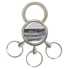 Marble Tiles Rock Stone Statues Pattern Texture 3 Ring Key Chains