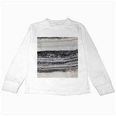 Marble Tiles Rock Stone Statues Pattern Texture Kids Long Sleeve T Shirts