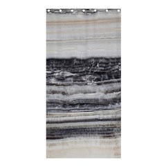 Marble Tiles Rock Stone Statues Pattern Texture Shower Curtain 36  X 72  (stall)  by Simbadda