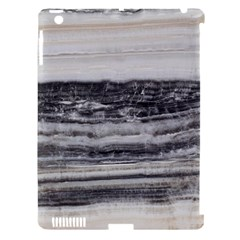 Marble Tiles Rock Stone Statues Pattern Texture Apple Ipad 3/4 Hardshell Case (compatible With Smart Cover) by Simbadda