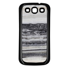 Marble Tiles Rock Stone Statues Pattern Texture Samsung Galaxy S3 Back Case (black)