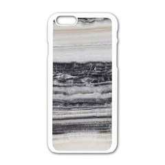 Marble Tiles Rock Stone Statues Pattern Texture Apple Iphone 6/6s White Enamel Case