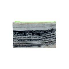 Marble Tiles Rock Stone Statues Pattern Texture Cosmetic Bag (xs)