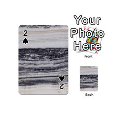 Marble Tiles Rock Stone Statues Pattern Texture Playing Cards 54 (mini)