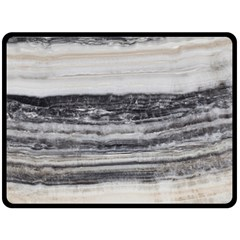 Marble Tiles Rock Stone Statues Pattern Texture Double Sided Fleece Blanket (large)