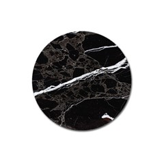 Marble Tiles Rock Stone Statues Magnet 3  (round)