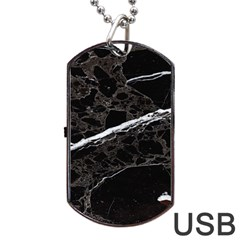 Marble Tiles Rock Stone Statues Dog Tag Usb Flash (two Sides)